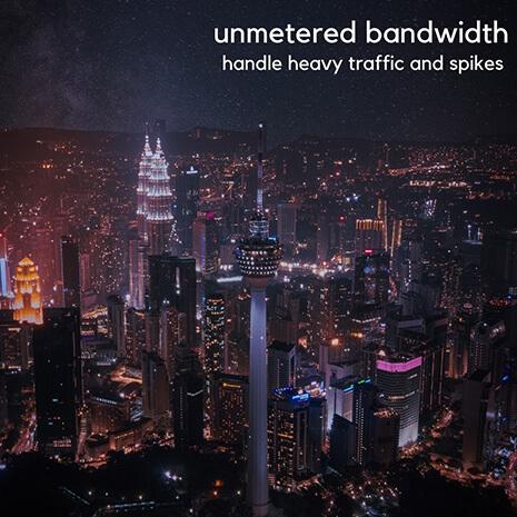 Unmetered Bandwidth [image by izuddinhelmi]